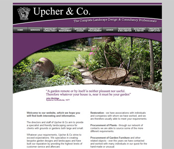 Upcher & Co - landscape consultants