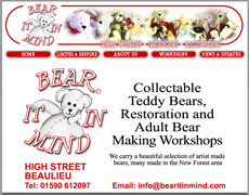 Bear it in Mind teddy bear shop Beaulieu