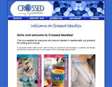 Crossed Needles - patterns and designs