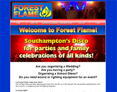 Forest Flame - Mobile DIY Disco and Lighting