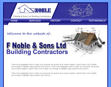 F Noble & Sons Ltd building contractors