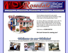 Rosedale Bed and Breakfast, Lyndhurst, Hampshire