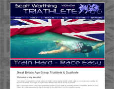 Scott Worthing GBR Triathlete
