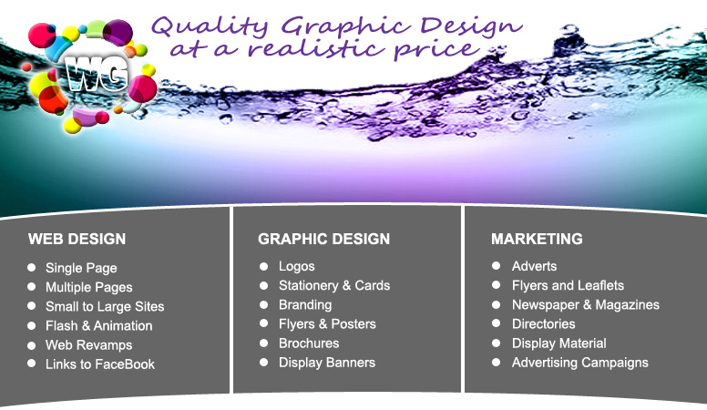 Graphic And Web Design Advertising And Print Service